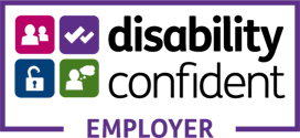 Positive about disable people logo